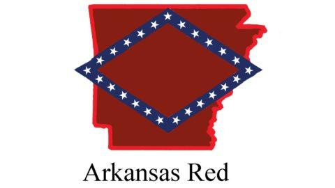 Arkansas Carports Color-Arkansas Red
