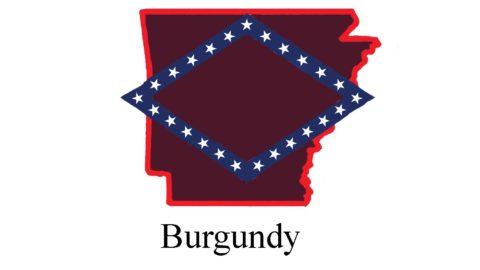 Arkansas Carports Color-Burgundy