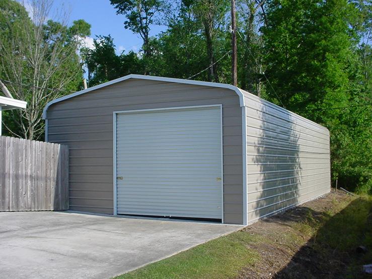 Arkansas Carports - Regular style garage