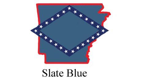 Arkansas Carports Color-Slate Blue